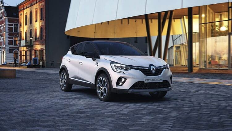 Новый гибрид Renault Captur E-Tech Plug-in Hybrid