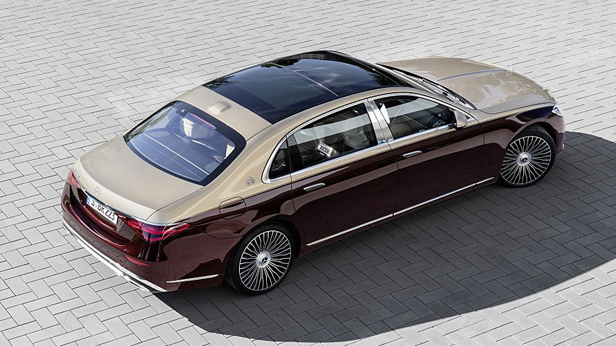 Новый Mercedes-Maybach S-Class